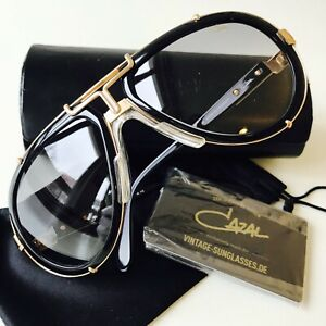 CAZAL 642/3 col 1 black sunglasses Germany legends LARGE Hip Hop limited edition