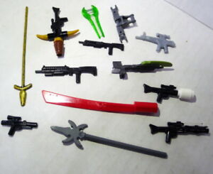 Mixed Lot LEGO & Mega Bloks Weapons and Other LOT 13 pieces