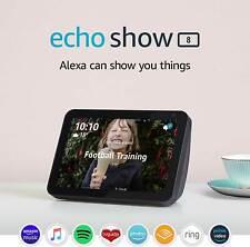 Amazon Echo Show 8 Smart Speaker - 8 Inch Display with Alexa Black NEW & SEALED