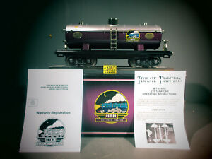 MTH 10-1127  Standard Gauge 200 Series Tank Car MTHRRC O.B. C-8.