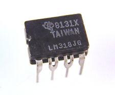 Texas LM318JG Amplificador operacional rápido de propósito general OM0017c Dip De Cerámica IC