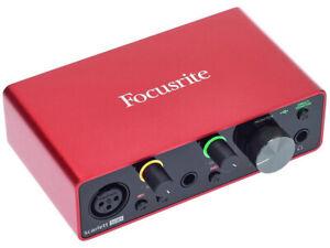 FOCUSRITE Scarlett Solo 3rd Gen Scheda Interfaccia Audio MIDI USB 2in - 2out