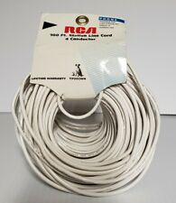 RCA 100 ft Station Line Cord 4 Conductor TP002WH