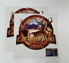 Big Buck Hunter Call of the Wild Arcade Game Side Decals - NEW