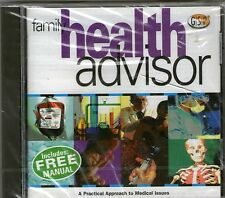 FAMILY HEALTH ADVISOR | New Sealed | Windows 95 98 XP ( 7 8 10 see listing )