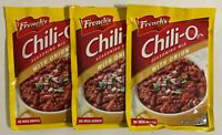 French's Chili-O Seasoning Mix with Onion 2.25 oz  Lot of 3 Packs Exp.2022
