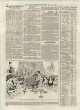 1892 Mrs Graham Tomson Literary Ladies Dinner At The Criterion