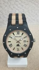 BS Bonasen Handmade Retro Wooden Wristwatch Men's, Analogue, Quartz #GIK