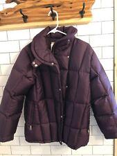 Bogner Women's Ski Jacket Purple Size 8 Goose Down Coat Extrmely Warm!
