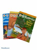 Lot of 3 A to Z Mysteries Books The Canary Caper The Goose's Gold Empty Envelope