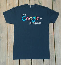 Graphic Tee T-Shirt Womens Size Small The Google+ Plus Project Excellent