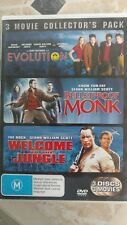 Evolution  / Bulletproof Monk  / Welcome To The Jungle (DVD, 2006, 3-Disc Set)
