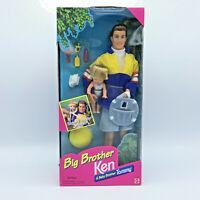 Vintage Big Brother Ken & Baby Brother Tommy Barbie Dolls NRFB 1996 Mattel 17055