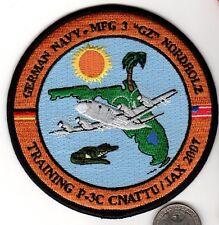 NATO P3 Plane Patch US German Naval Manuvers Jacksonville Florida NAS 2007 Navy