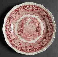 Mason's VISTA PINK Salad Plate 339117