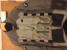 bmw rallye 2 jacket mens grey size large 52 (118)