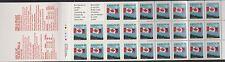 Canada Booklet BK125 40c Flag.  1990 CV 36.00