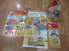 4pc Lot 1993 Unique Wild West COWboys Moo Mesa Birthday Party Goods Multi-color