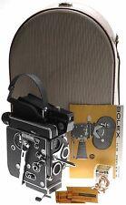 REX 5 BOLEX H16 REFLEX 16mm CAMERA BODY 3 TURRET LENS HOLDER GOSSEN METER FILTER