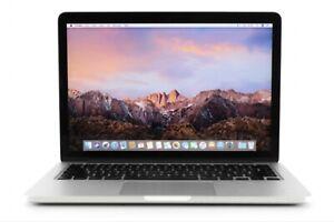 Apple MacBook Pro Late 2013 Intel i5, 4GB Ram, 128GB Flash, 13inch (US Model)