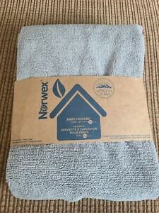 NEW Norwex New Grey / Gray Baby Hooded Towel / Face Set Microfiber Color Grey (M