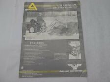 Arps Model 70 Backhoe For 18 To 30 Hp Tractors Sales Brochure