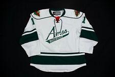 AHL Houston Aeros Alternate Game-Worn Jersey #11 Nick Petersen !Rare Style!