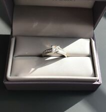 1 ctw Princess Cut Diamond Engagement Ring