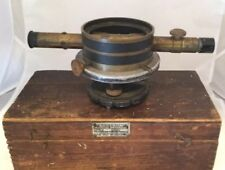 Bostrom Survey Transit Model 4 Serial No 47  Brass With Finger Joint Fitted Box