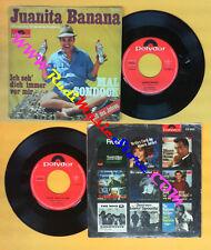 LP 45 7'' MAL SONDOCK Juanita banana Ich seh dich immer vor mir no cd mc dvd