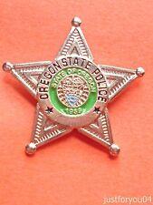 Oregon State Police Pin Badge.