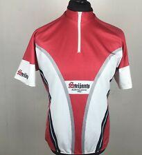 Svijany Beer Pivovar Cycling Jersey Men's Size XL Custom Short Sleeve Bike Shirt