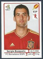 PANINI EURO 2012- #295-ESPANA-SPAIN-BARCELONA-SERGIO BUSQUETS