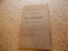 1875.Tentures et tapisseries de la cathédrale d'Angers.Farcy