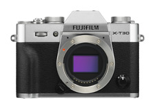 Fujifilm X-t30 silver Argentr seulement Corps X-trans CMOS 4