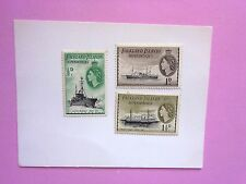 FALKLANDS DEPENDENCIES:1954 Q Elizabeth II definitives 3values M/Mint G26/28