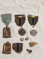 Vintage American Legion Service Officer Medal Pins and more