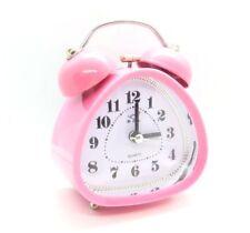 sveglia retro stile vintage quandrance goccia rosa luce notturna campanello