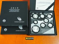 2019 S PROOF SILVER EAGLE LIMITED EDITION PROOF SET IN OGP