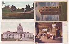Antique Maine  Post Card Lot of 4 Minnesota