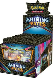 Pokemon TCG Shining Fates Mad Party Pin Collection Display SEALED IN Stock