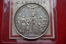 Rare Linz Germany Franz Maria Bishof Confirmation Medal Silver L. Zimpel