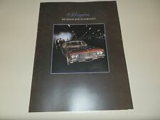 1970 HOLDEN HG BROUGHAM BROCHURE,INCL MATCHING COLOUR CHART. 100% GUARANTEE.