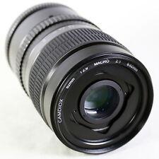Camdiox 62mm 2:1 Ultra-Macro Manual Focus Lens for Sony E NEX Mount camera A7 II