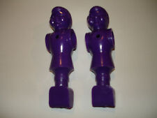 "2 Premier Soccer Foosball Men 5/8"" Rod 2  Purple OEM Parts"