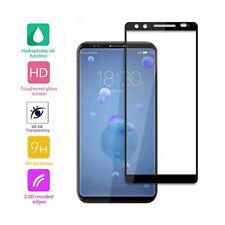 3 × HTC U12 Plus Premium Full Coverage Tempered Glass Screen Protector Film