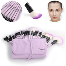 32x Professional Makeup Brush Set Cosmetic Brushes Make up Kit + Pouch Bag Case.