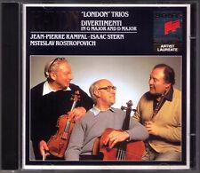Jean-Pierre RAMPAL Isaac STERN ROSTROPOVICH: HAYDN London Trio Rostropowitsch CD