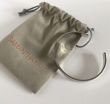 Samantha Faye Inspirational Do Good Silver Cuff Bracelet Feel Good Rv$60