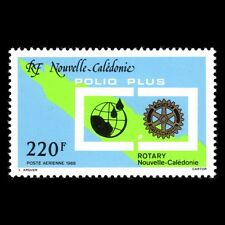 New Caledonia 1988 - Rotary International Anti-Polio Campaign - Sc C215 MNH